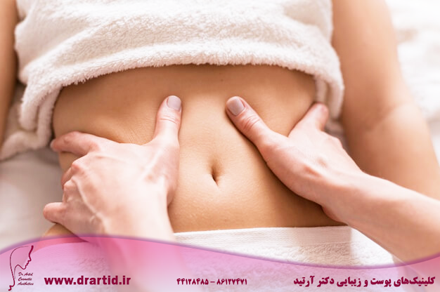 close up abdomen massage concept 23 2148531165 - لاغری - ماساژ لاغری