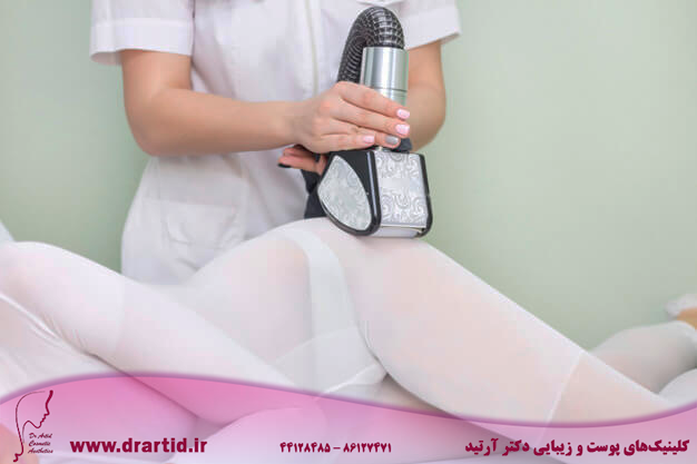 lpg girl body massage spa girl is given hardware massage she is wearing special jumpsuit massage 170532 1424 - لاغری - LPG