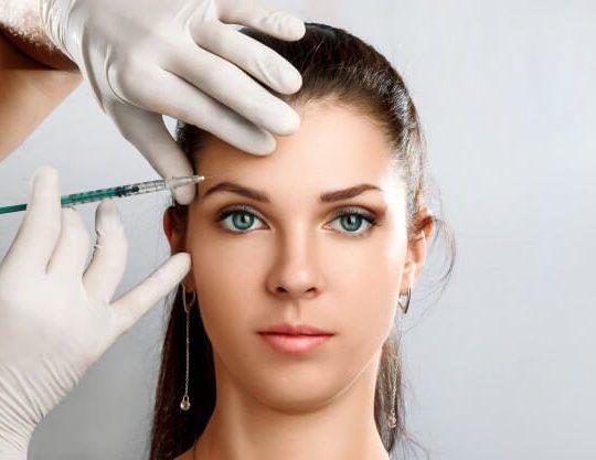 portrait young beautiful woman getting botox cosmetic injection 99433 884 540x417 - دورههای آموزشی