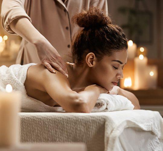 tender african woman smiling enjoying massage with closed eyes spa resort 176420 13956 540x500 - لاغری - بادی اسکالپتور