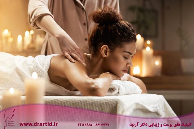 tender african woman smiling enjoying massage with closed eyes spa resort 176420 13956 - ماساژ
