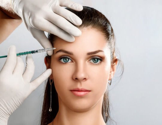 portrait young beautiful woman getting botox cosmetic injection 99433 884 540x417 1 - خانه